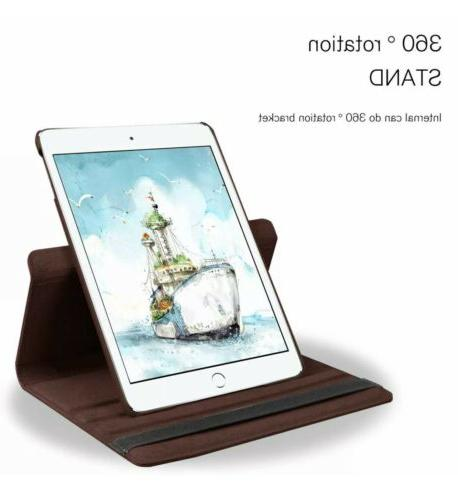 For iPad / Rotating Smart Stand Case