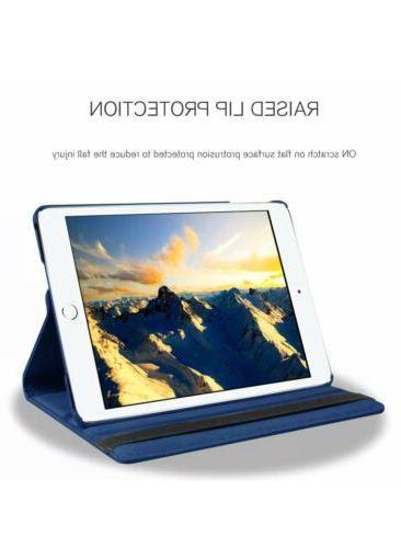 """For iPad 9.7 / 10.2"""" Rotating Leather Case Cover"""