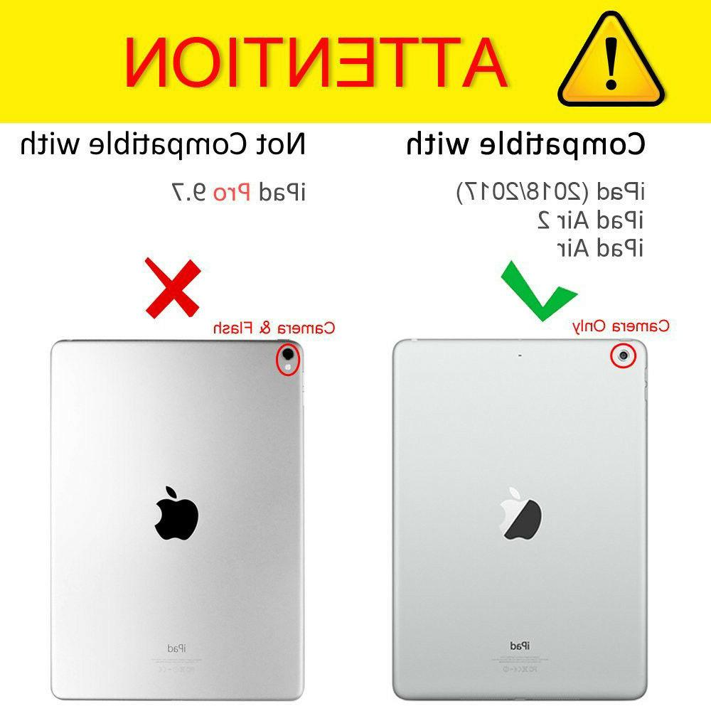 For iPad Gen Gen Air Case Cover+Bluetooth