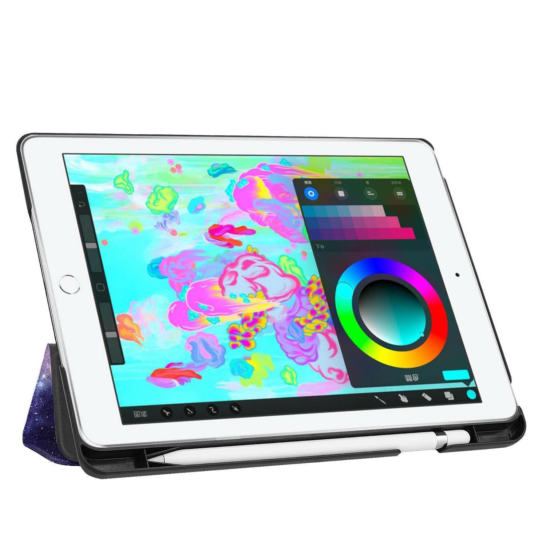 iPad 6th Gen Case Pencil Holder Smart Cover