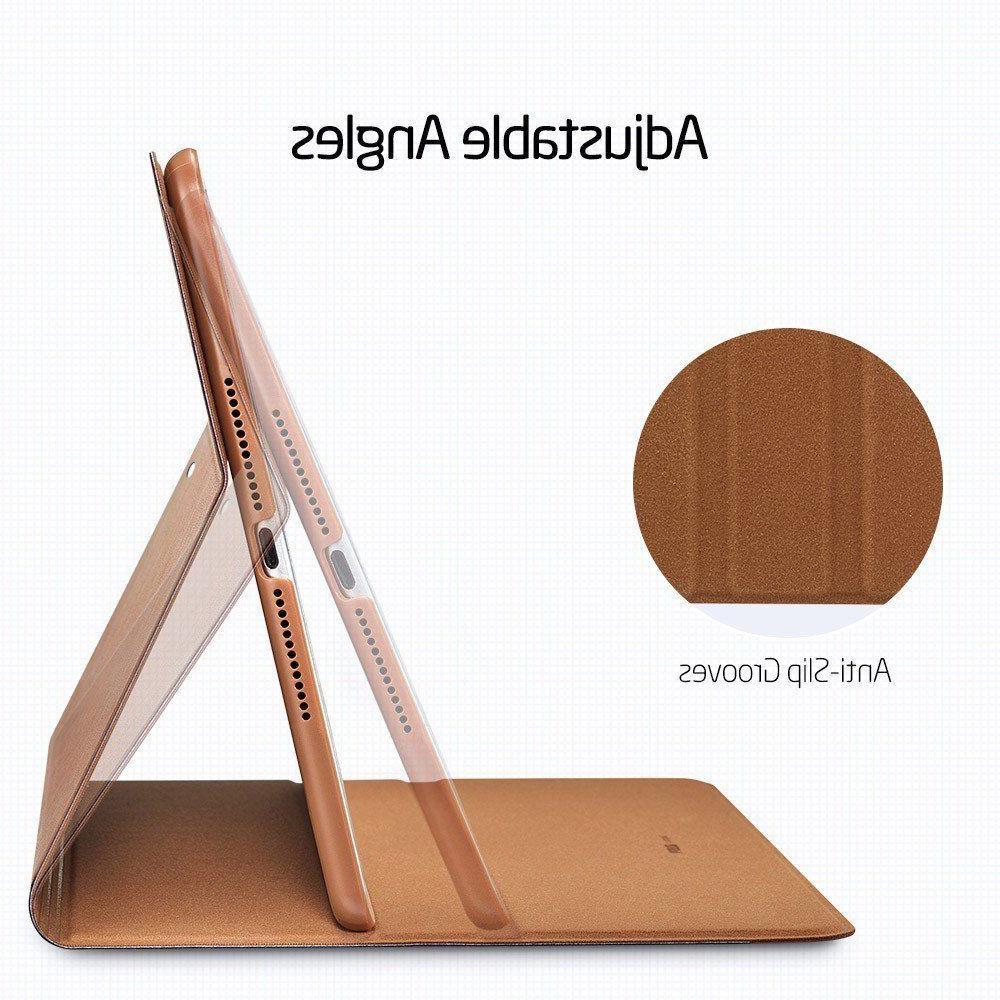 iPad 9.7 ESR Case Folios Brown Blue Denim