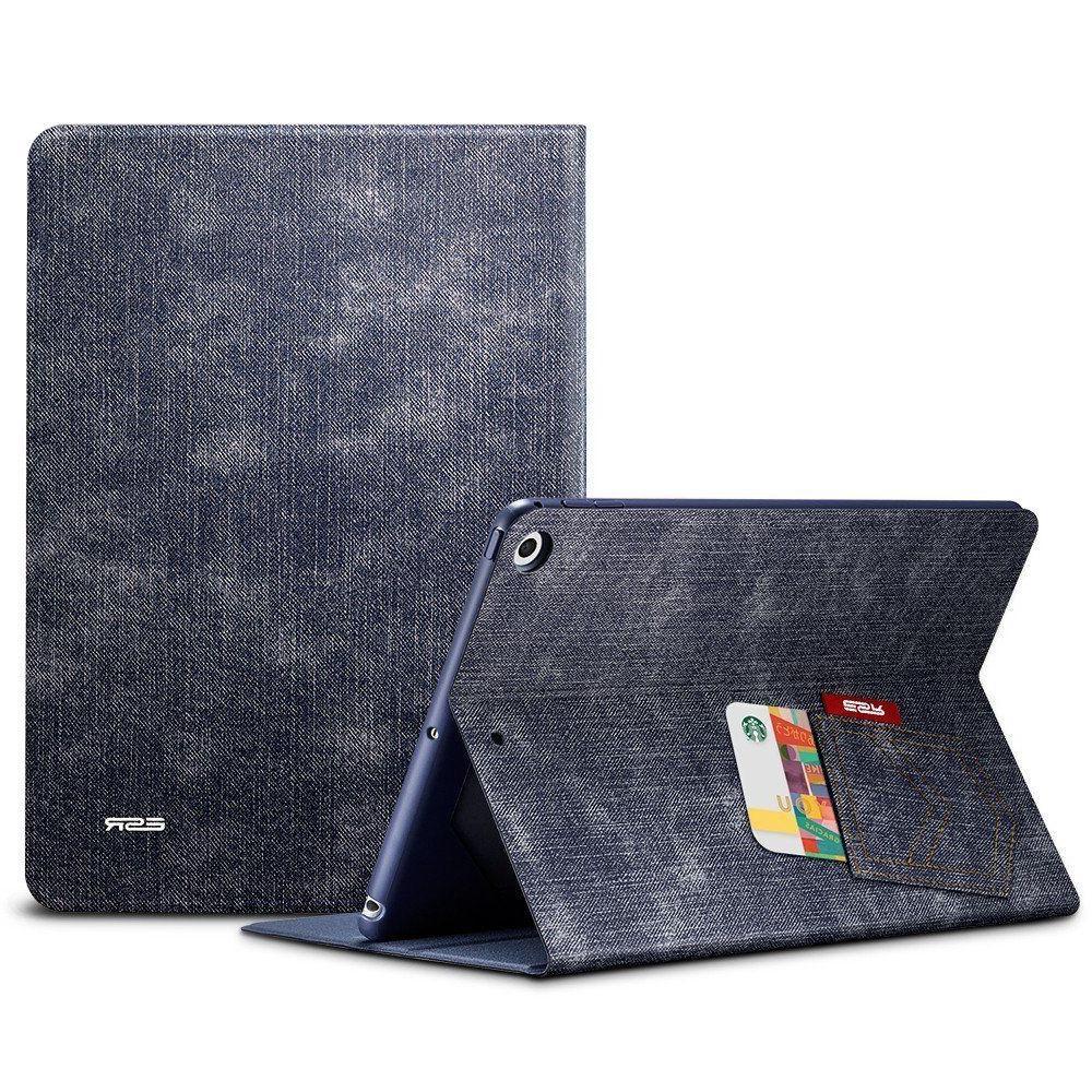 iPad 9.7 Case Folios Slim- Brown Blue -
