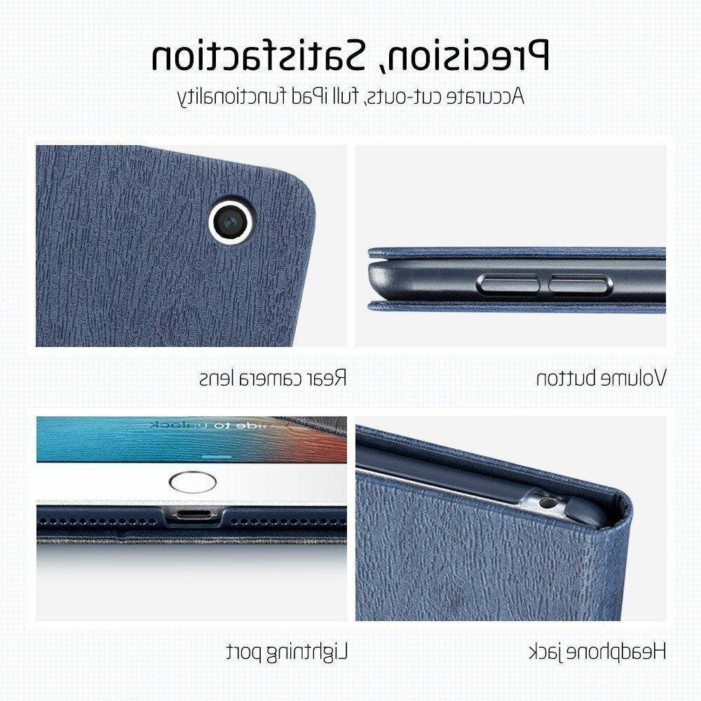 iPad 9.7 ESR Case Folios Brown Leather - Blue -