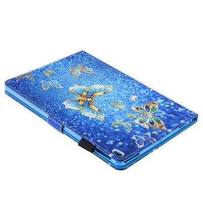For iPad Mini Air Pattern Magnetic Leather Stand Slot Case Flip Cover