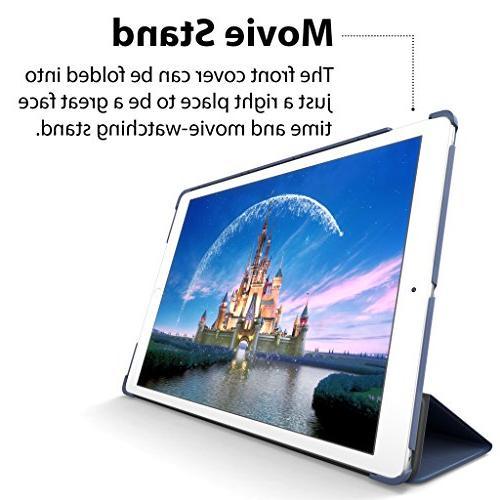 New iPad 9.7-inch 2017 ROARTZ Navy Rubber Folio Cover For 6th Retina A1893 A1822