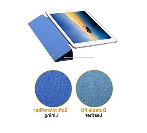 Dyasge Air Case Cover, Smart Cover Wake Sleep and iPad Air Blue