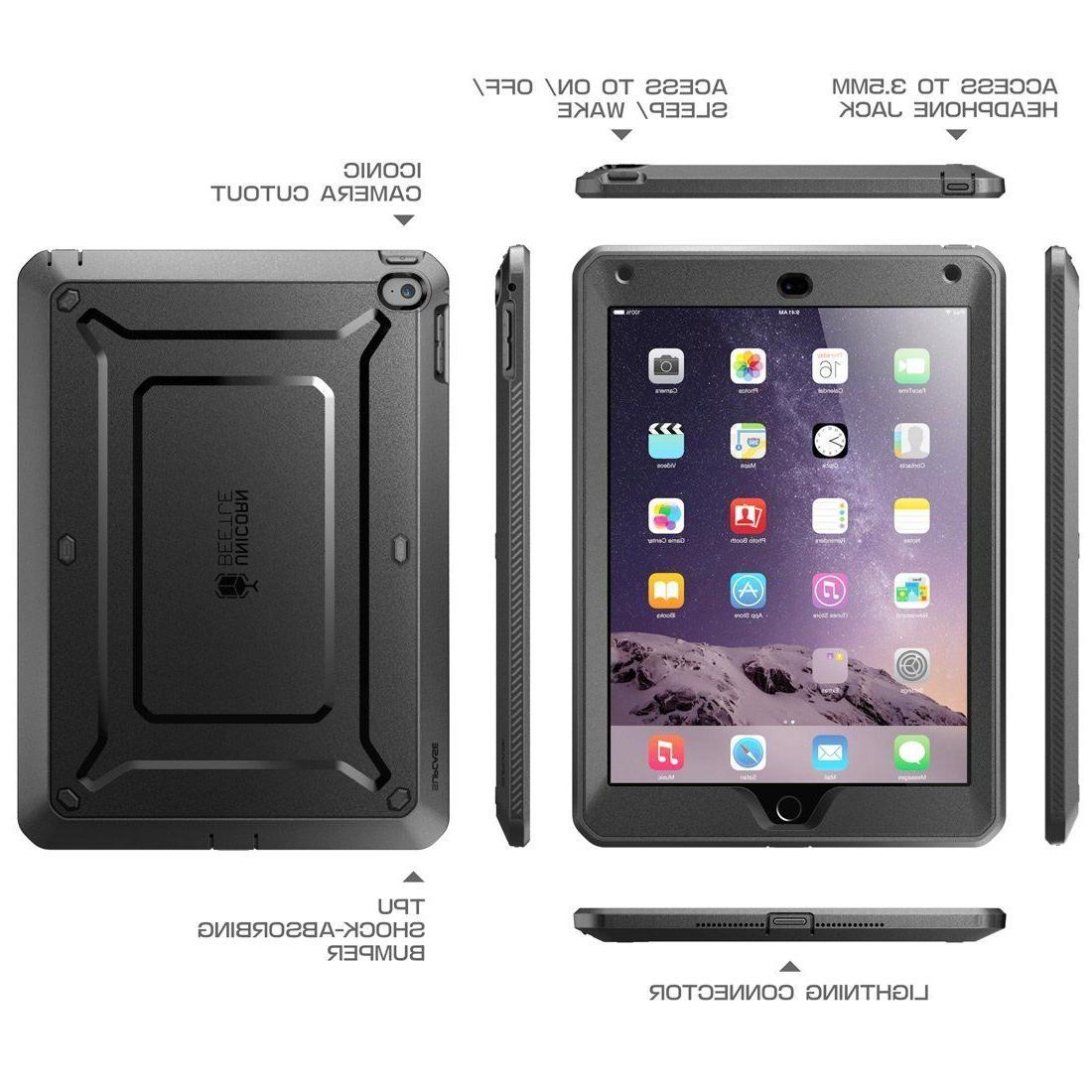 SUPCASE iPad Air 2 Case, Full-body Cover w/ Protector New