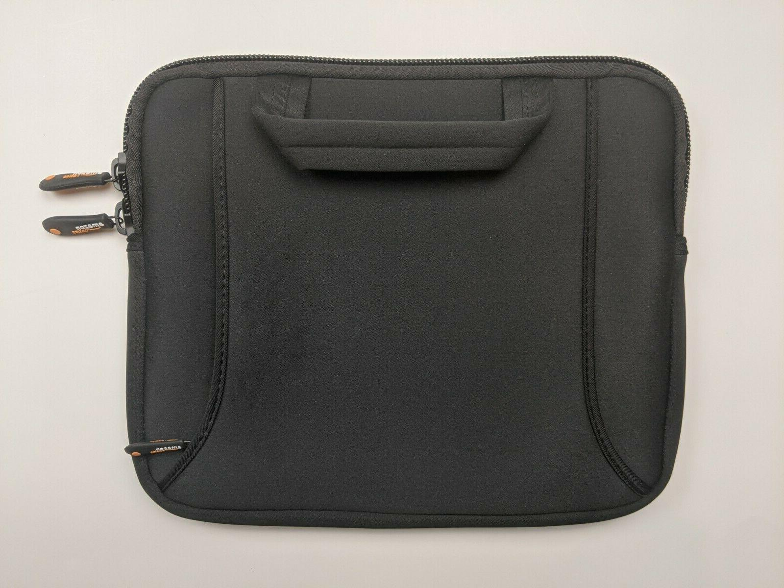 ipad air and netbook bag with handle
