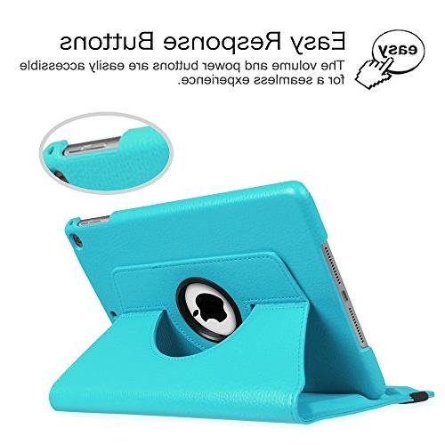 """Fintie 9.7 inch 2018 2017 Air Degree Rotating Cover with Auto Wake 9.7"""" / 2013 Model, Baby"""