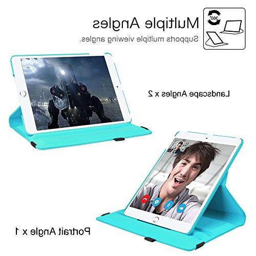 """Fintie 2018 2017 / Air Case Degree Rotating Stand Protective Cover Auto Wake 9.7"""" iPad 2013 Model, Baby"""