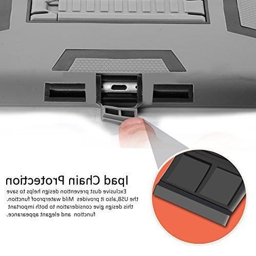 TOPSKY iPad Impact Three Layer Armor Case Air