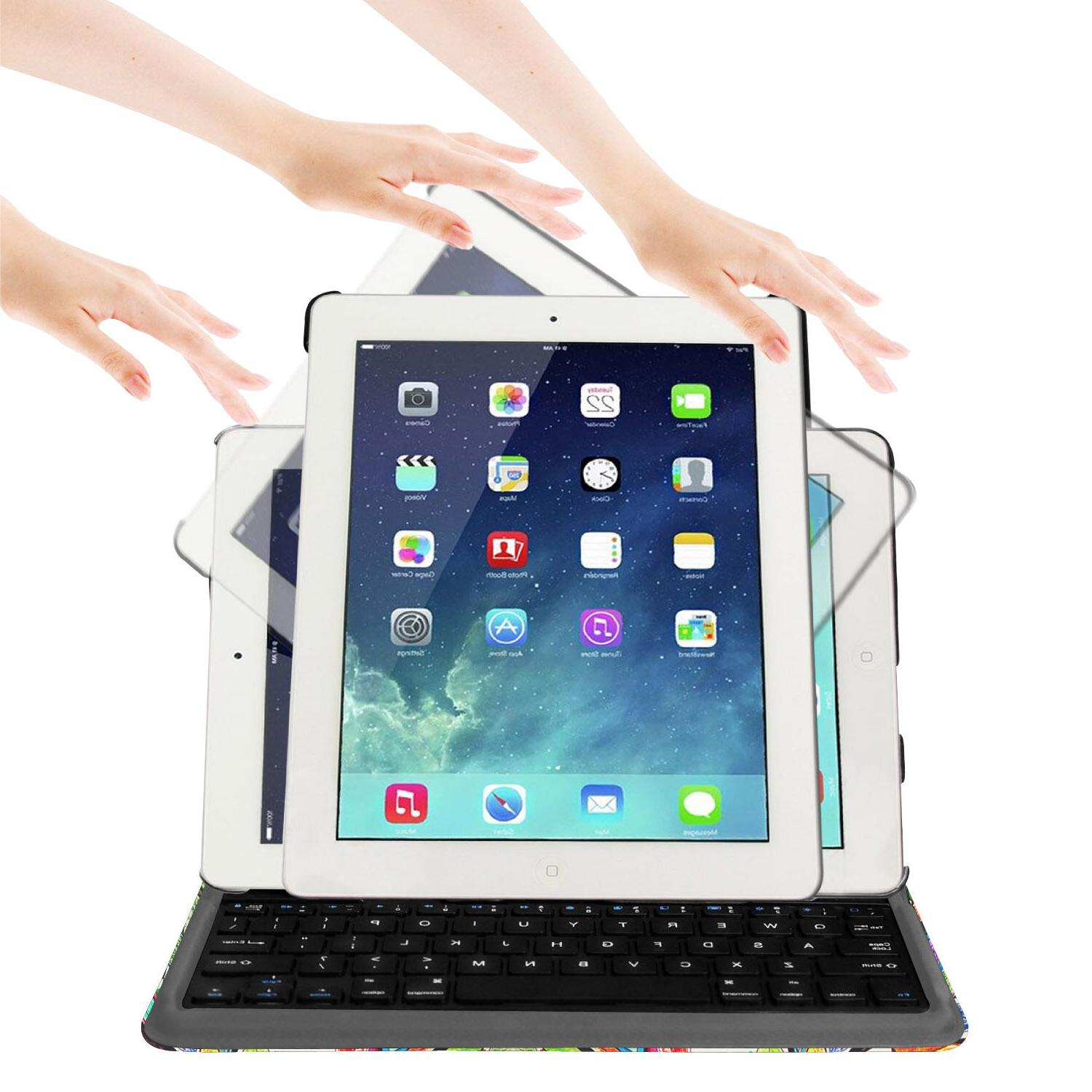 For 9.7 6th Smart Case Standing Detachable