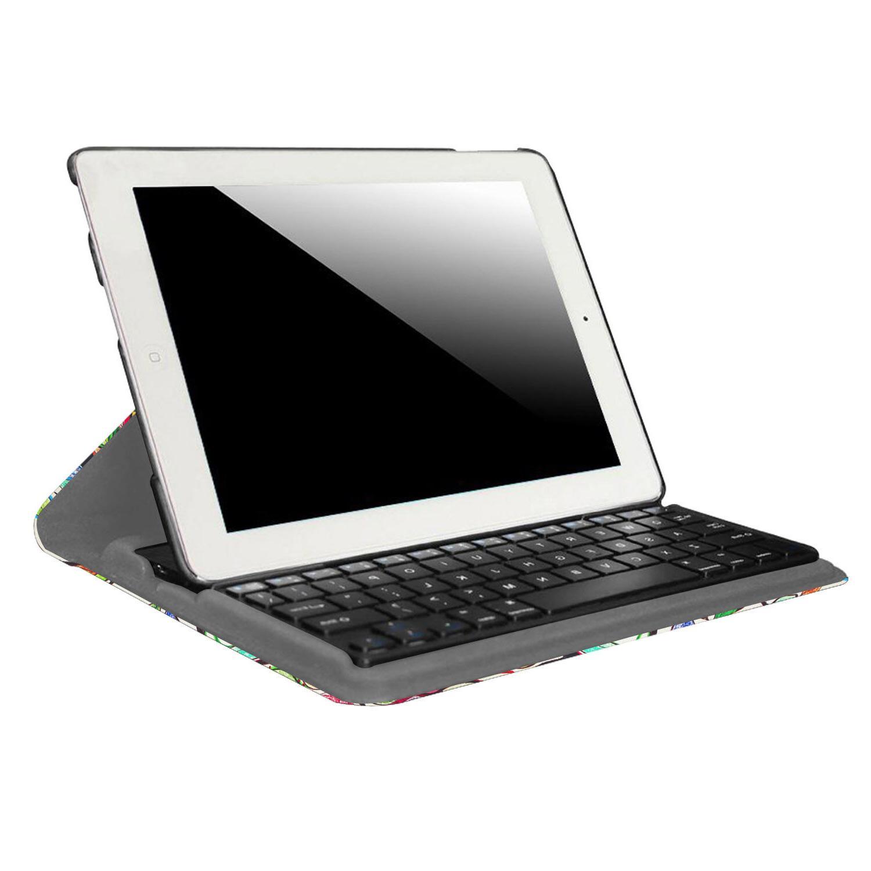 For iPad iPad 6th Smart Case Detachable Keyboard