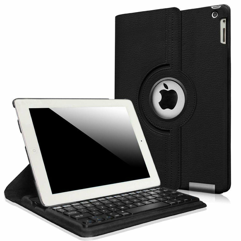 Fintie iPad Air/ iPad Air 2 Bluetooth Keyboard PU Cover Mult