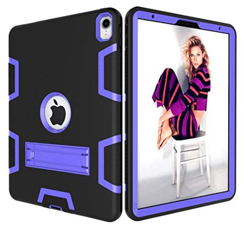 iPad - in Rugged Heavy High Resistant with for 11 Inch Black/Purple