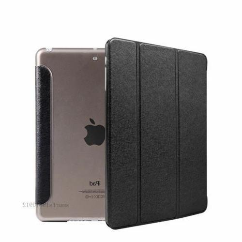 iPad Case Cover Auto Sleep/Wake for Apple iPad Air 2 Stand U
