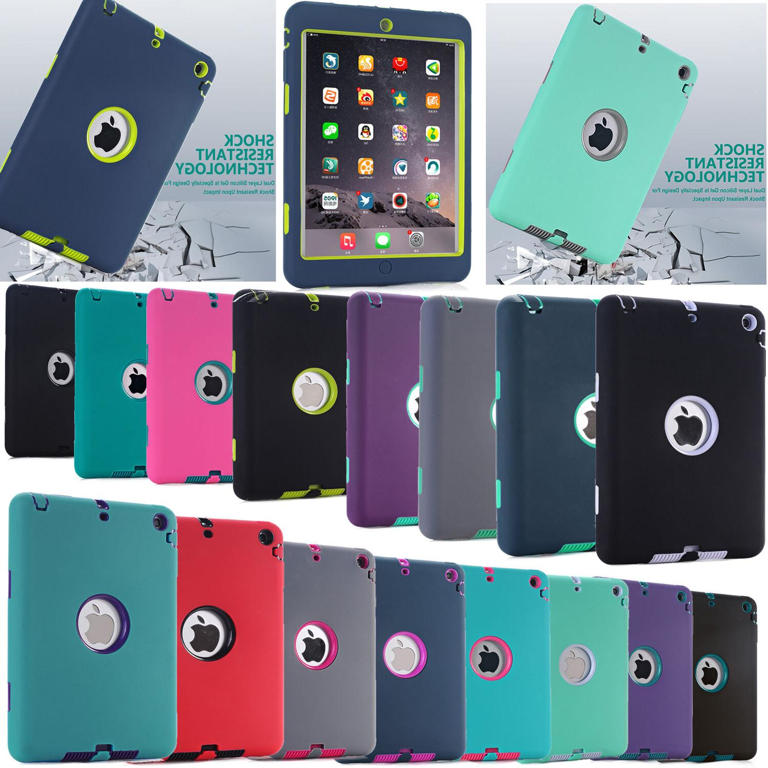 For  iPad case ,Heavy Duty Full-Body Shockproof Protective c