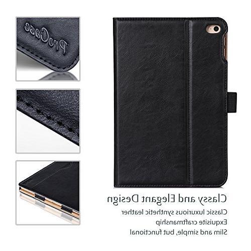 ProCase iPad Mini 4 Case Folio Case Cover 2015 Apple 4 Viewing Angles,