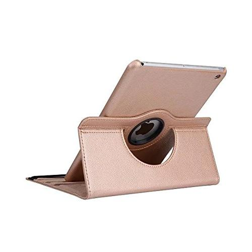 iPad Case, Mini Mini 3 Case, AiSMei Rotating Stand Case For / with Retina / mini Covers Gold