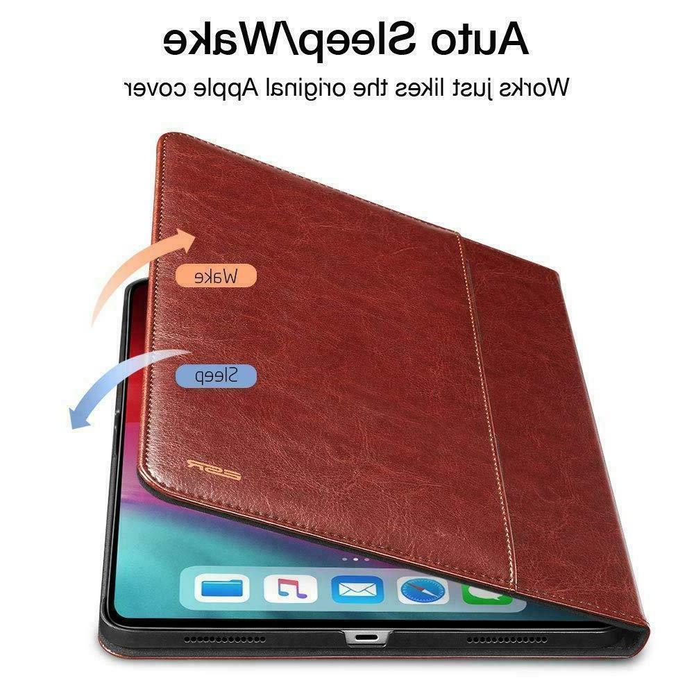 "ESR® IPAD PRO 11"" LEATHER BUSINESS SMART COVER"