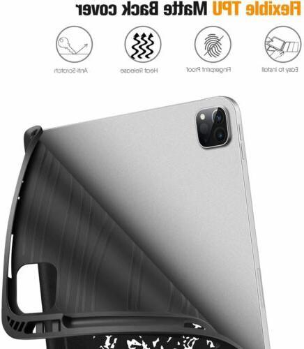 For iPad 2020/2018 SlimShell TPU Back Auto