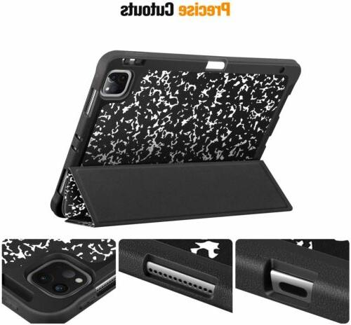 For Pro 2020/2018 SlimShell Case TPU Stand Cover Auto Wake