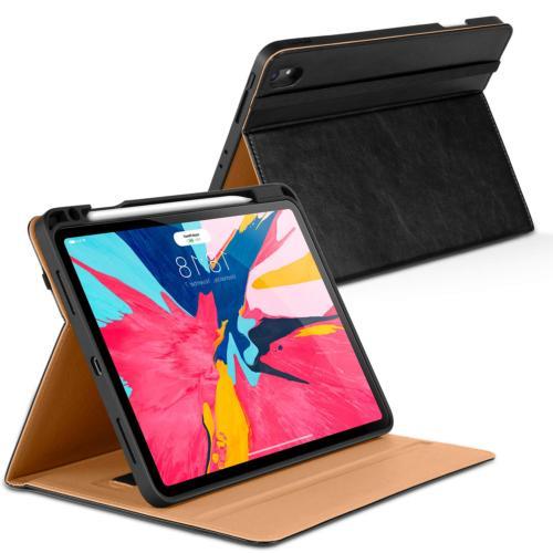 DTTO iPad Pro 11 Case 2018 with Pencil Holder, Premium Leath