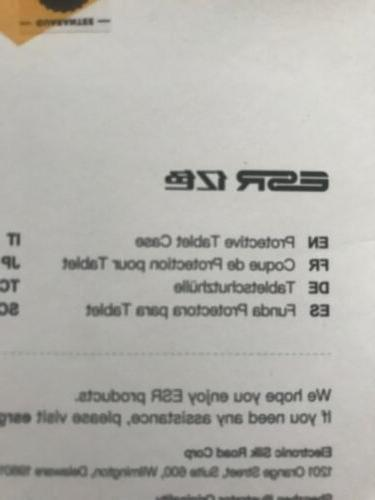 ESR Ipad Inch Smart Folio Black