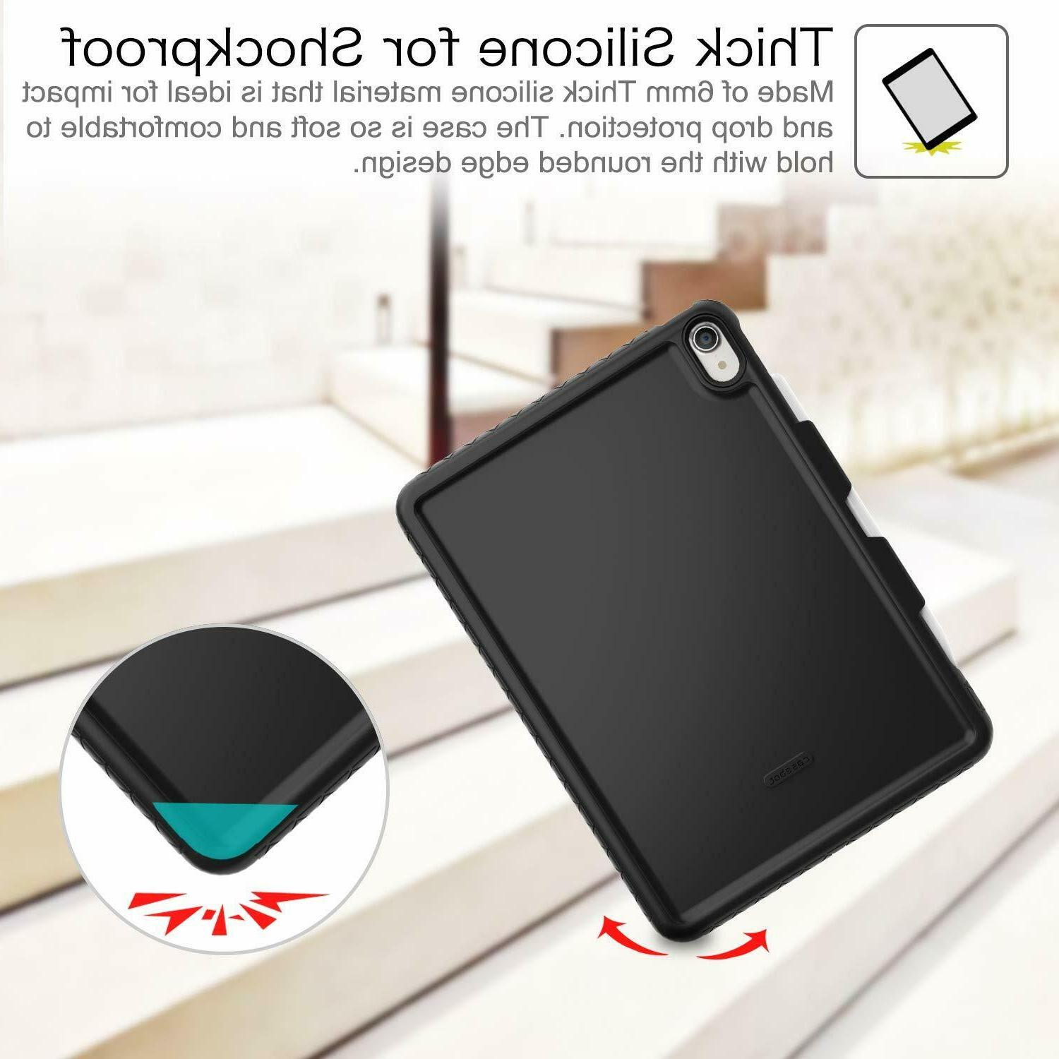 For iPad / Pro Gen 2018 Silicone Shock Proof Back Cover