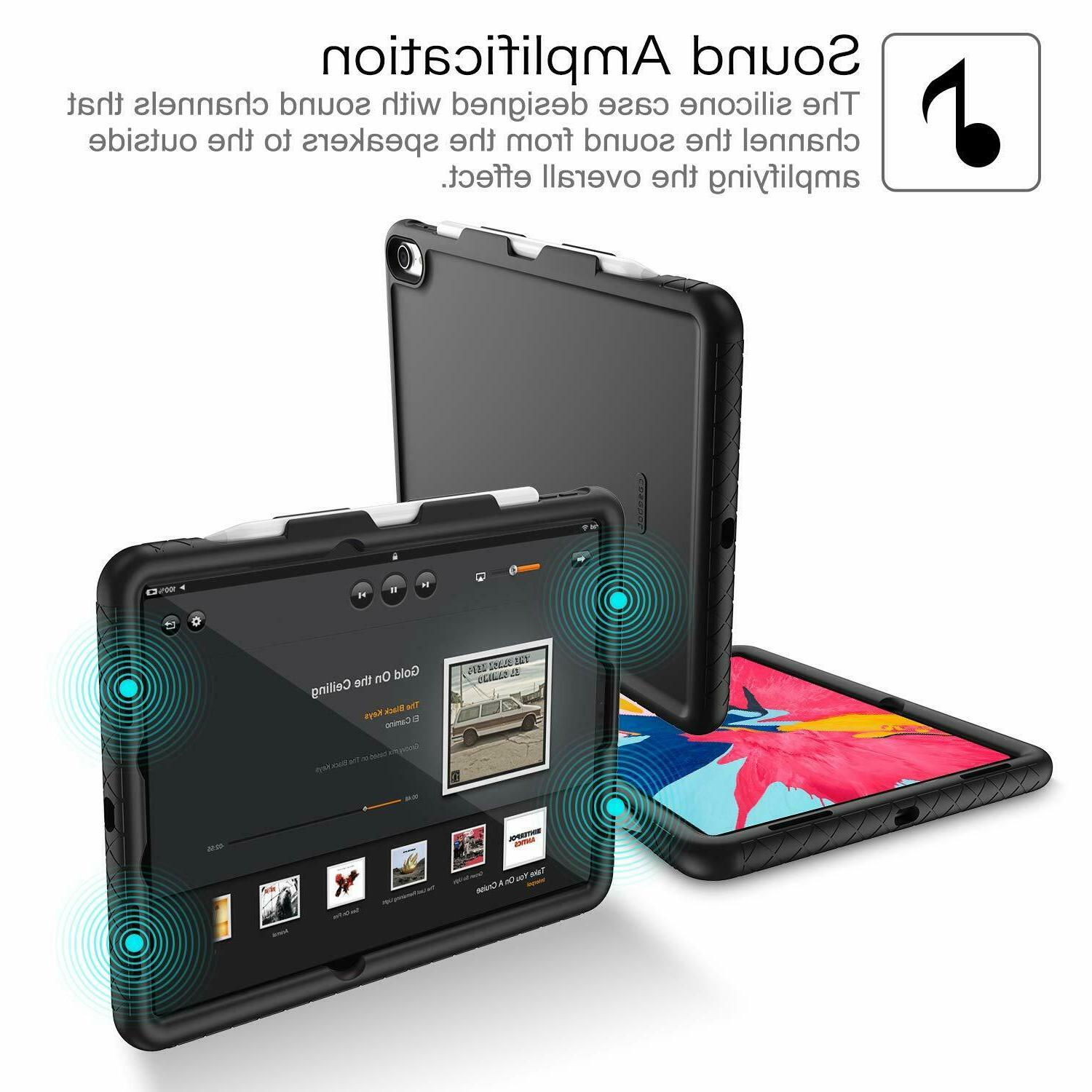 For iPad Pro Gen 2018 Silicone Shock Proof