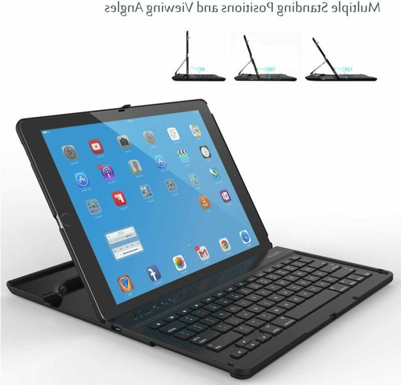 Ipad Pro Keyboard Tablet Wireless Rotation An
