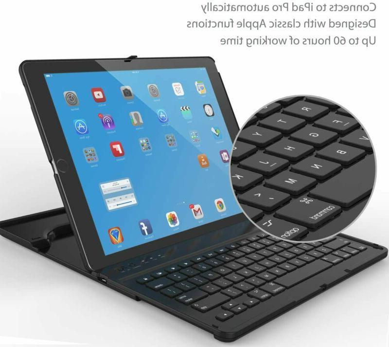 Ipad Keyboard Case Wireless Rotation An