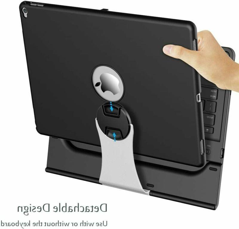 Ipad 2015 Keyboard Wireless 360° Rotation Multiple An