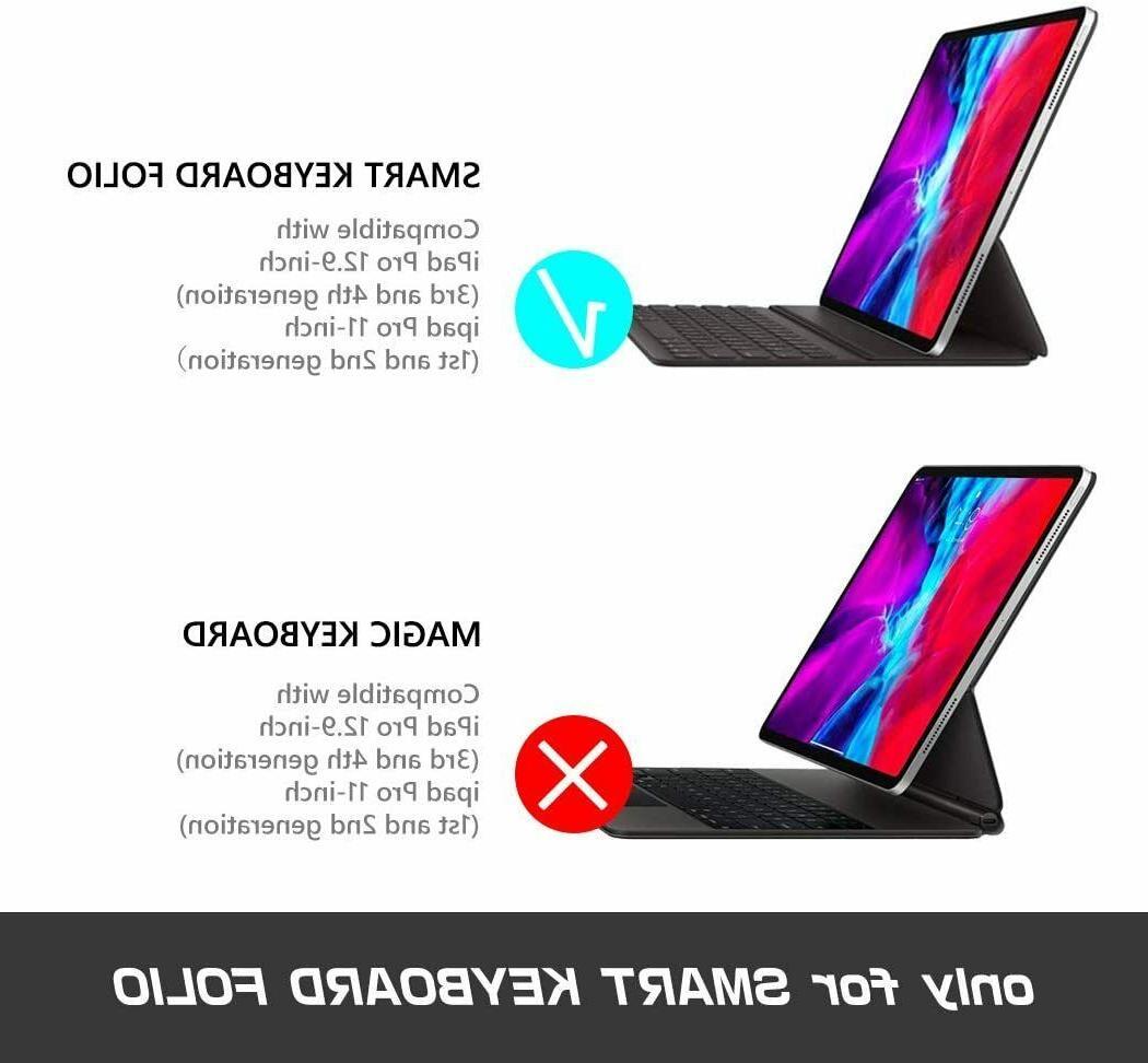 For iPad inch 4th/3rd Gen i-Blason Case Use w/ Keyboard Folio