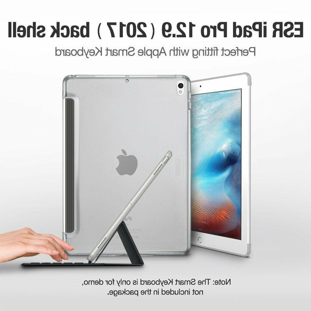 iPad Pro Case 12.9 2017 ESR Clear Hard Slim Back Shell Cover