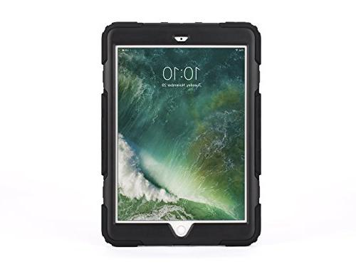 iPad Rugged case, Survivor All-Terrain with 4 8ft Black/Smoke