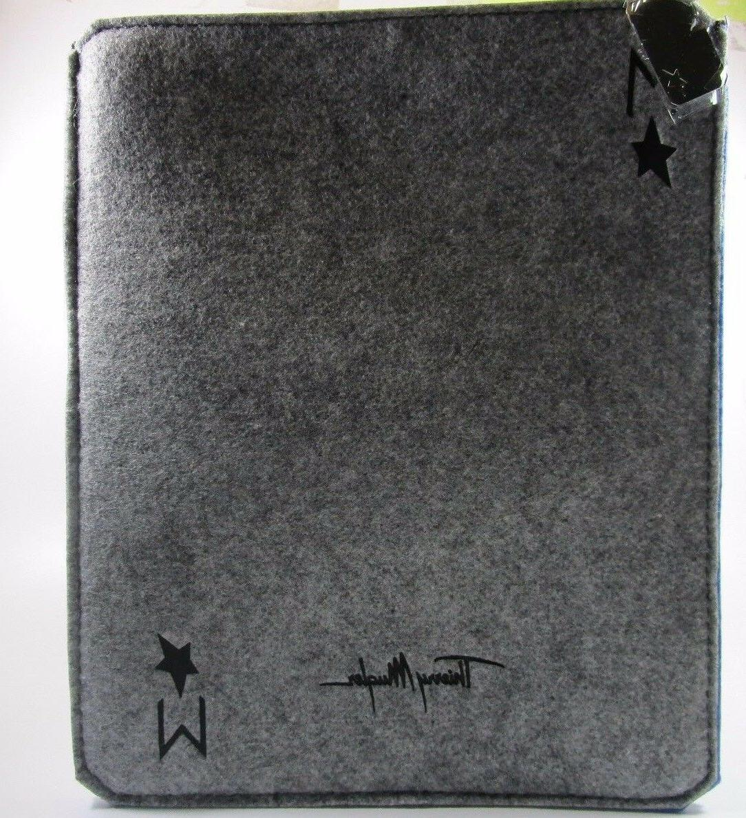 Thierry Mugler  Ipad / Tablet Case Color Grey W 9 1/2 H 10 i