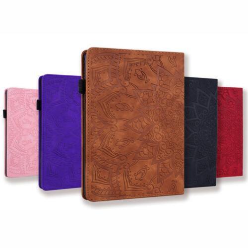 For iPad10.2'' 7th Gen 2019 Mini 5 4 3 2 Real Leather+Silico