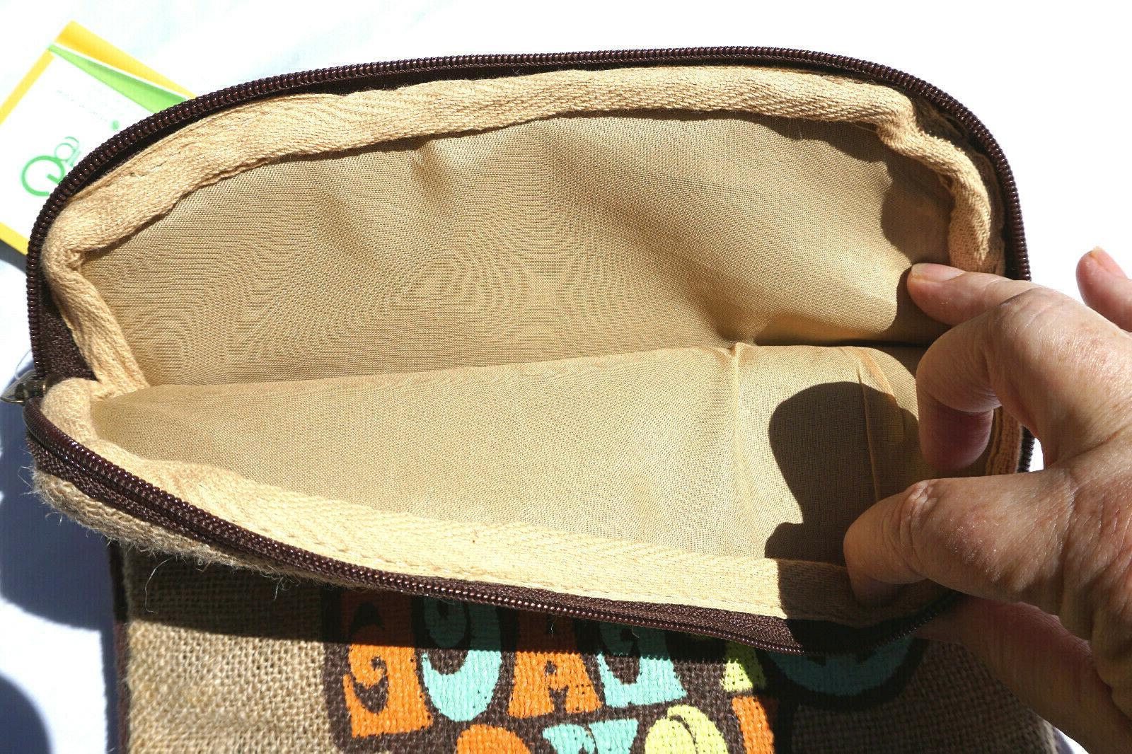 Jute Bags Tablet Love Peace