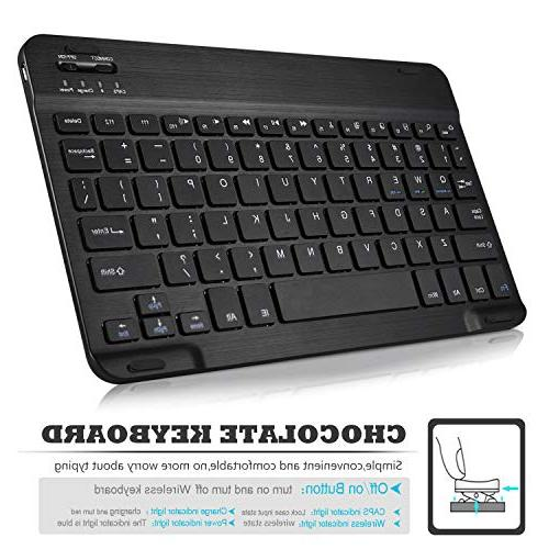 Luibor Keyboard Case for iPad Cover Wireless Slot iPad 11 2018 Tablet