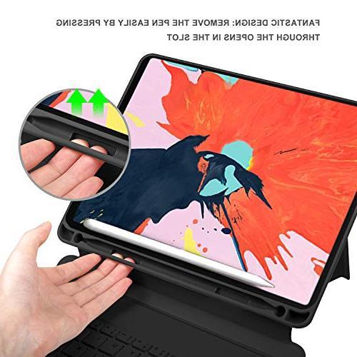 Luibor Keyboard Case iPad Cover Wireless Keyboard Slot Fitting iPad Pro Tablet