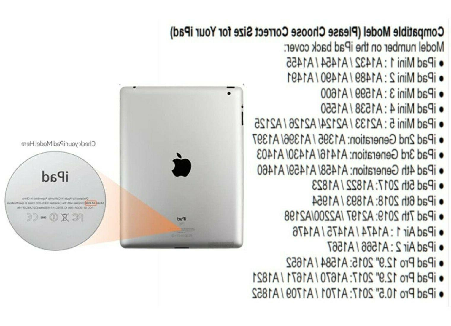 """Kid iPad Case 7th Generation 10.2"""" 6th,5nd,4th,3rd,2nd,Pro Mini 7.9"""""""