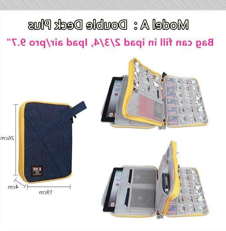 "Laptop Case Accessories Storage iPad 7.9"" Bag"
