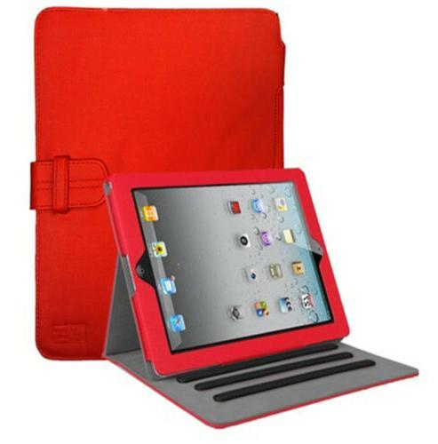 lightweight leather ipad folio case for ipad
