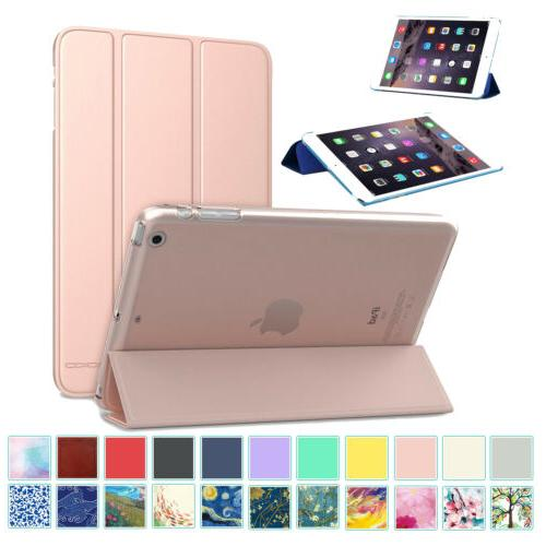 lightweight stand case translucent frosted back cover