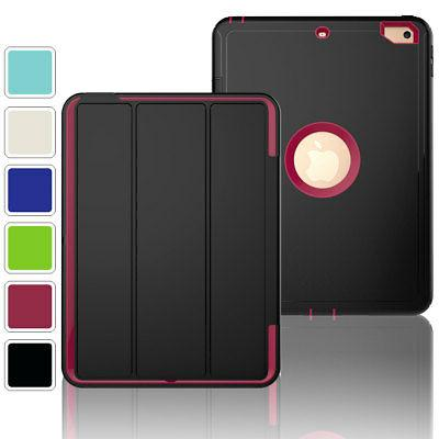 Luxury Screen Protector Stand Tablet Case Cover For Apple iP