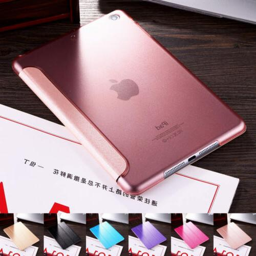 Luxury Slim Magnetic Silk Leather Stand Cover Case For  ipad