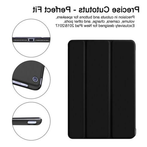 Magnetic Leather Smart Hard Case for iPad 5 6th Generation 9.7