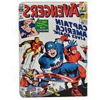 Marvel comics Captain America The Avengers Leather Case Stan