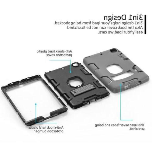 Military Heavy Rubber Hard Case iPad